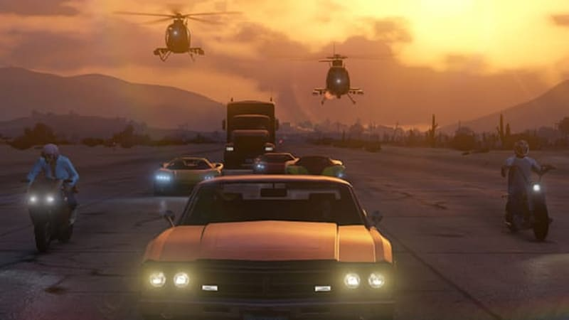 GTA Online gameplay vid shows all sorts of vehicles | Autoblog