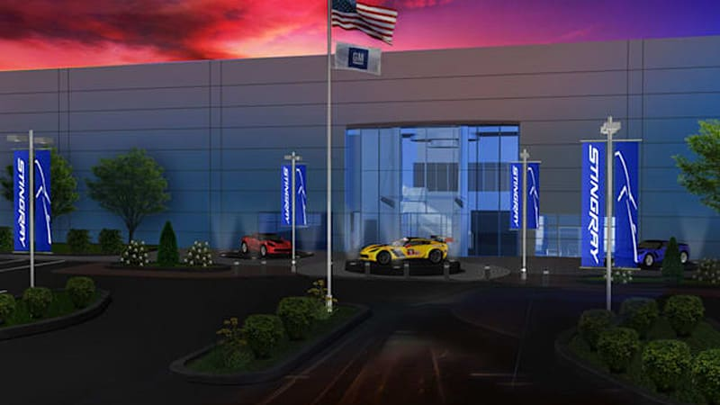 GM starts work on dedicated Performance and Racing center in Pontiac