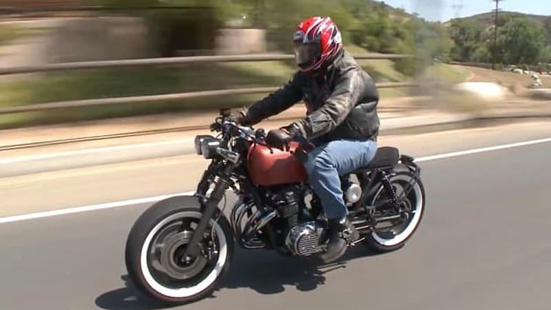 Leno meets the nicest people on his bored out honda cb750 autoblog jay lenos garage is back to its tried and true formula this week with jay taking a close look at a seriously cool vehicle with a guest sciox Gallery