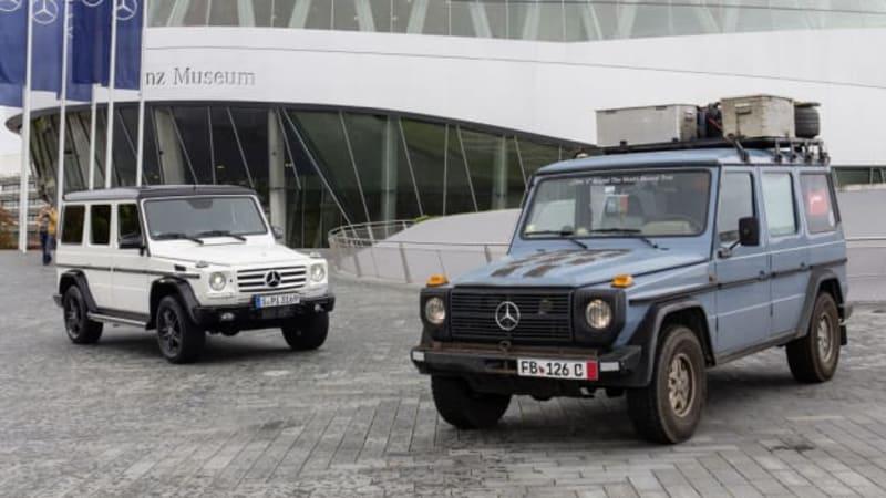 Mercedes Benz Of North Haven Home Facebook >> German Man Drives Mercedes G Wagen On 557k Mile 26 Year Road Trip