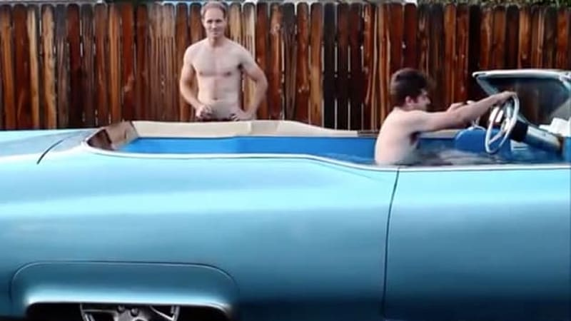 Carpool Deville aims to be the world's fastest hot tub