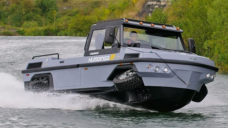 Gibbs to build Humdinga amphibious truck in Asia to help with tsunami relief [w/video]