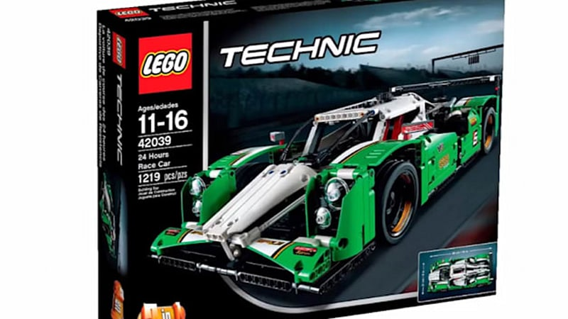 Lego Technic Endurance Racer Pieces It All Together Wvideo Autoblog