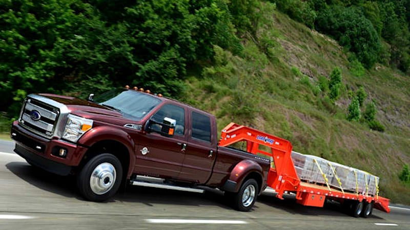 Ford F450 Dually Towing Capacity