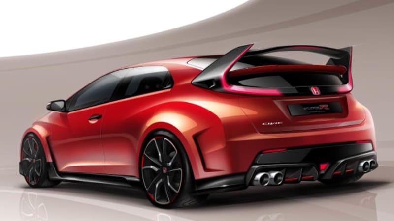 Honda Civic Type R Concept to hatch in Geneva | Autoblog