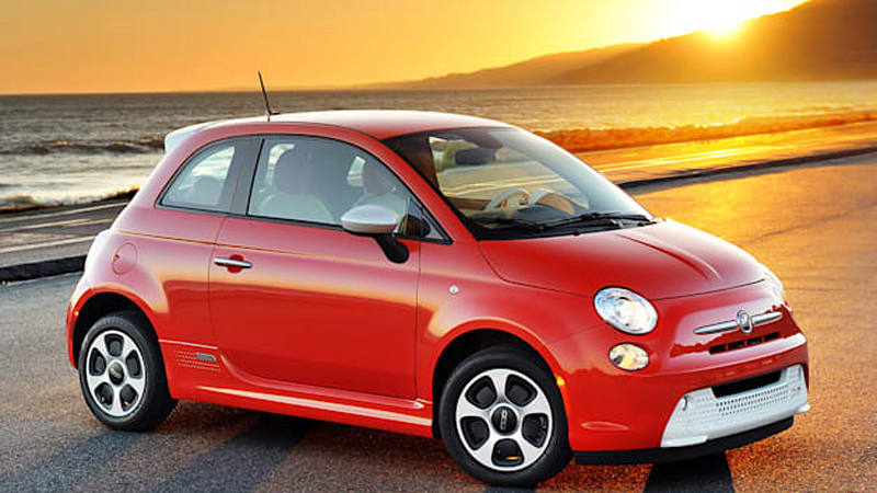 Fiat Electric Car >> Fiat 500e Named Road Track S Best Electric Car For 2013 Autoblog