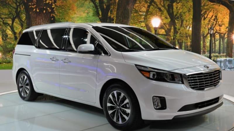 2015 Sedona Shows Kia Hasn T Given Up On Minivans Autoblog