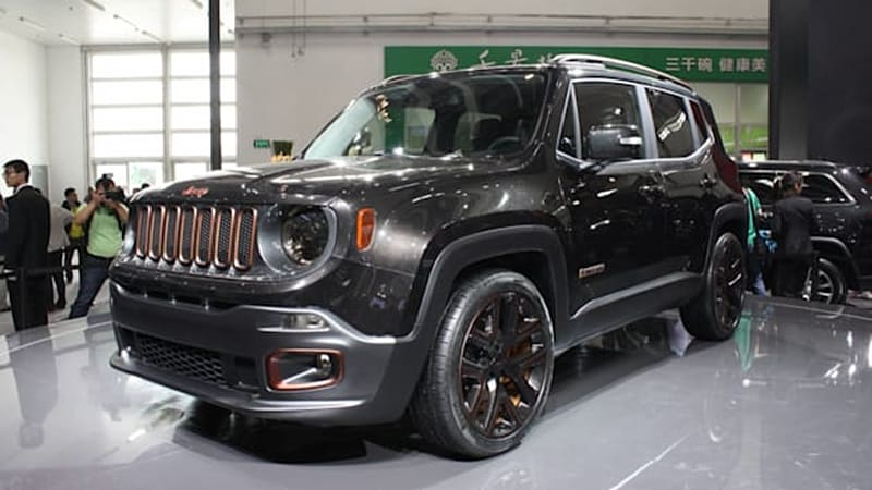 Jeep Brings Quartet Of Concepts To Beijing To Show Its Chinese Style