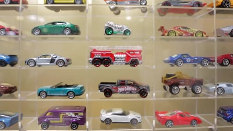 Go behind the scenes at the Hot Wheels design studio
