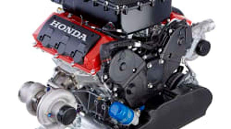 Honda unveils new 3.5-liter racing engine