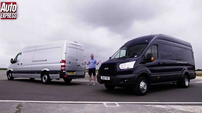 mercedes benz sprinter and ford transit can haul on the track autoblog. Black Bedroom Furniture Sets. Home Design Ideas