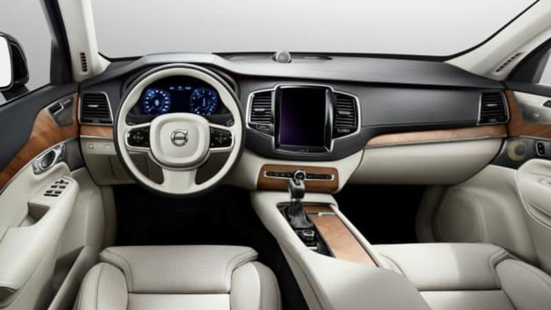Next-generation Volvo XC90 interior revealed