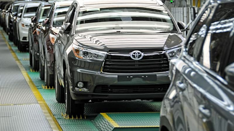 Toyota Makes 100m Investment To Boost Indiana Highlander Production
