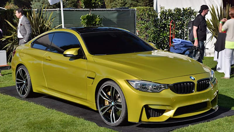 Bmw M4 Concept Beckons The New Golden Child Of M Cars Autoblog