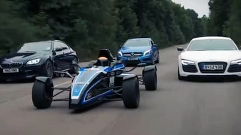 Autocar pits Formula Ford against Germany's finest