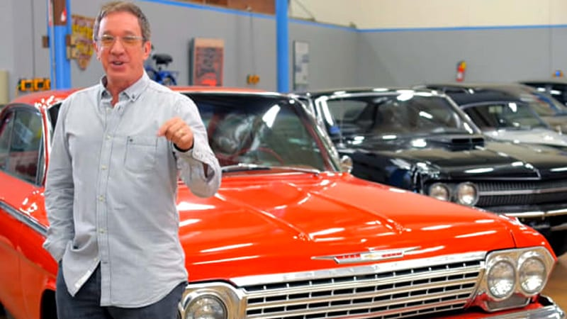 take a peek inside tim allen 39 s garage autoblog. Black Bedroom Furniture Sets. Home Design Ideas