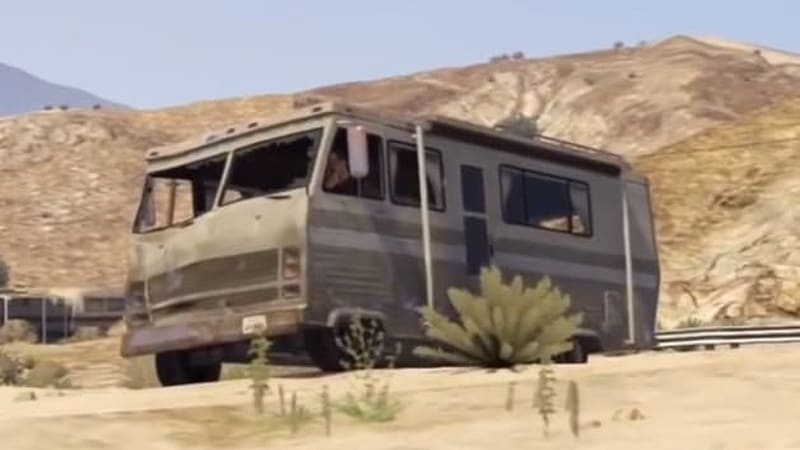 Grand Theft Auto V recreates famous TV and movie moments
