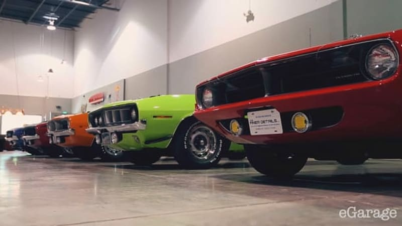 Meet this muscle car hunter's monster collection called The Zoo