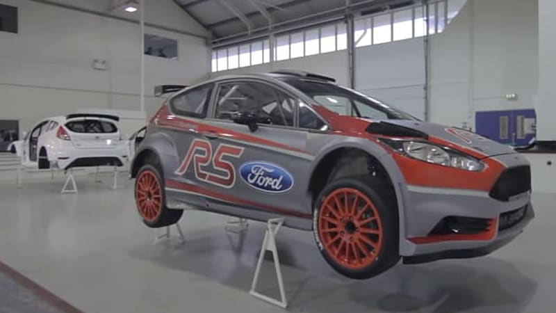 Evo Grabs Ford S Fiesta R5 Rally Car By The Scruff Autoblog