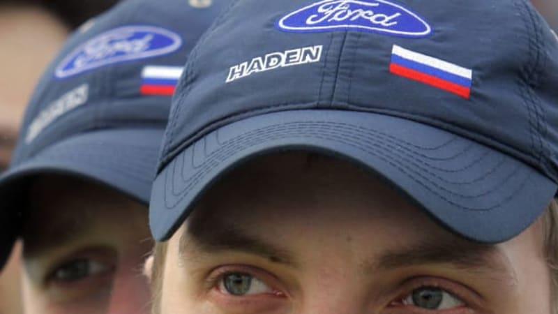 Ford cuts 950 Russian jobs on weak demand