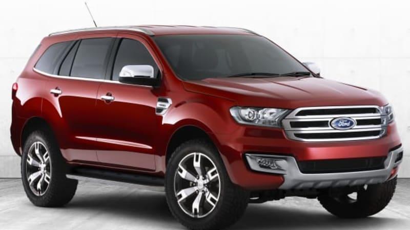 Ford Australia debuts Ranger-based Everest SUV concept