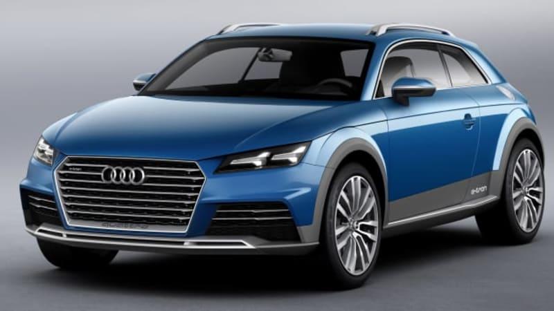 Audi Allroad Shooting Brake Showcar Is A 124 Mpge Hybrid E Tron