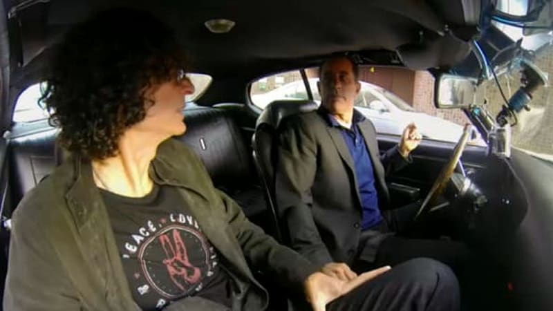 howard stern latest in seinfeld 39 s passenger seat for cicgc autoblog. Black Bedroom Furniture Sets. Home Design Ideas