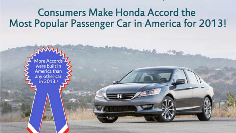 The Latest Round Of New Vehicle Registration Data Has Been Good For Honda