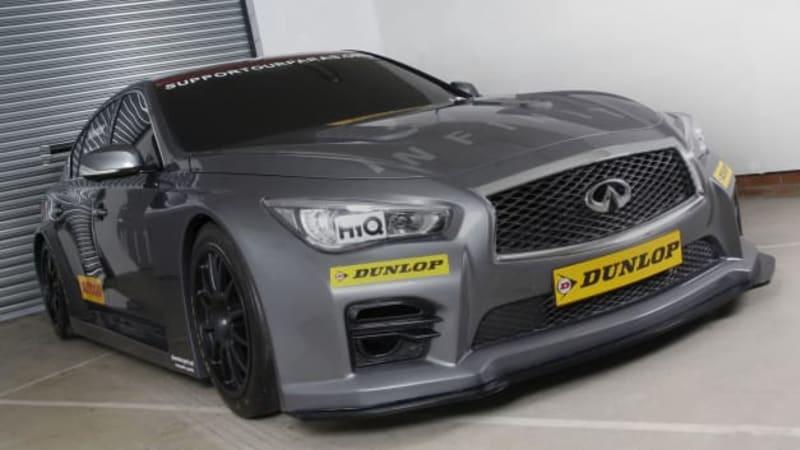 Infiniti Q50 to enter British Touring Car Championship