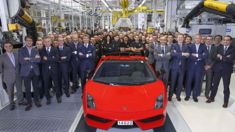 Lamborghini Gallardo Production Ends On No 14 022 Autoblog