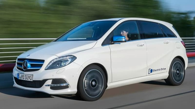 Recharge Wrap Up Mercedes Benz B Cl Electric Drive Goes On In Europe Spain Gets Nissan Leaf Taxis Autoblog