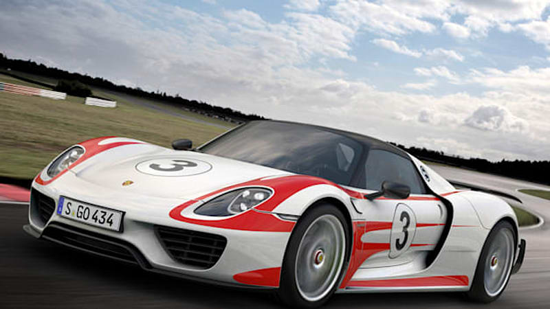 porsche 918 spyder with weissach package does 0 62 mph in. Black Bedroom Furniture Sets. Home Design Ideas