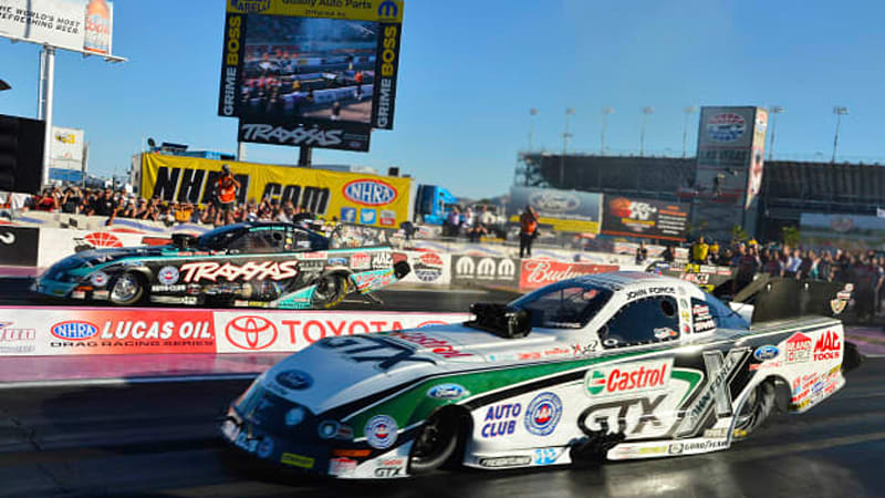 John Force Defeats Daughter To Win 16th Nhra Championship Wvideo