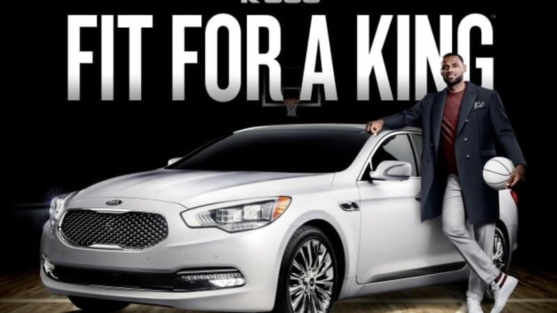 efb6ed519204 LeBron James to rep Kia K900 - Autoblog