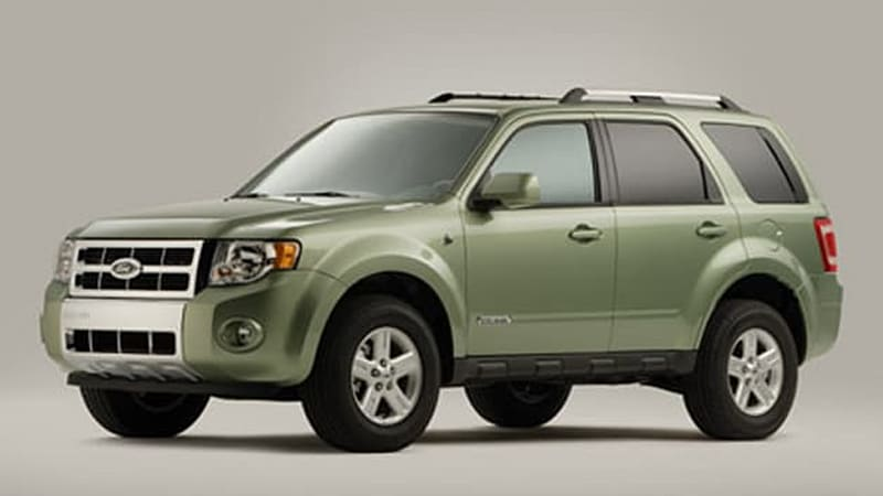 2005 ford escape recall notices