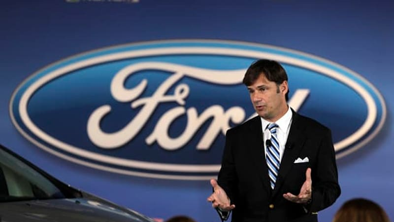 Ford's Farley apologizes for saying Blue Oval tracks customers with GPS