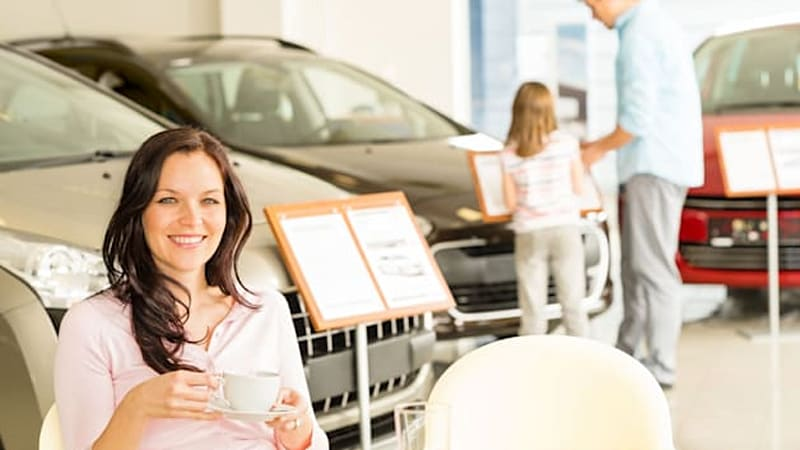Why car dealerships are turning into coffee shops