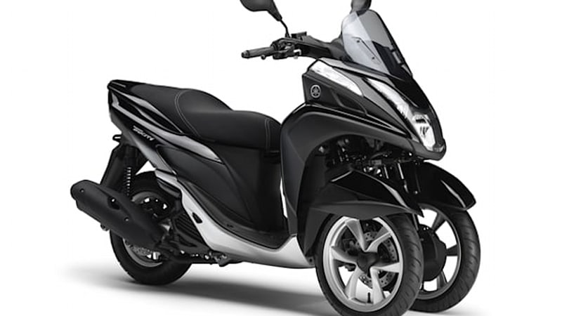 Yamaha Debuts Tricity 3 Wheel Scooter W Video Autoblog