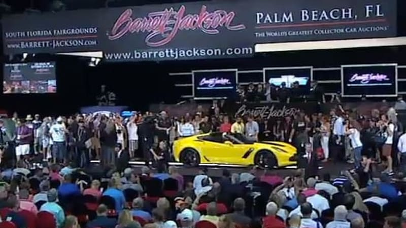 First 2015 Chevy Corvette Z06 Sells For A Cool Million Autoblog