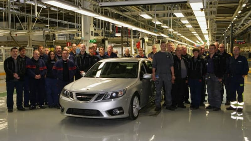 Saab restarts production line in Trollhättan