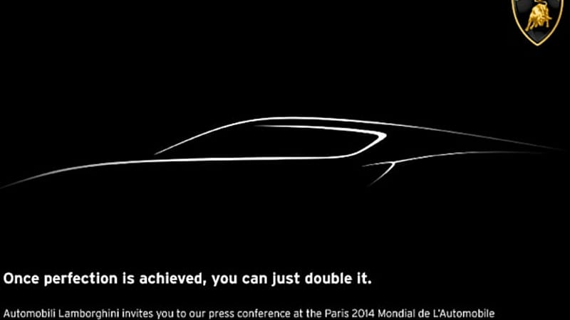Is Lamborghini readying a hybrid for Paris?
