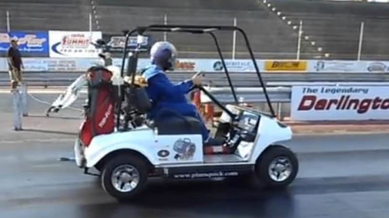 Watch this 118-mph golf cart blow away the world record - Autoblog on camping bus, camping parts, camping shoes, camping tv,