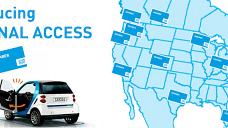 New Car2go Regional Access Shares Carsharing Between Us Canada