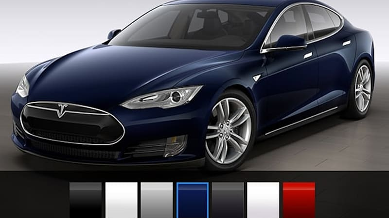 Tesla Model S reduces colors with new options | Autoblog