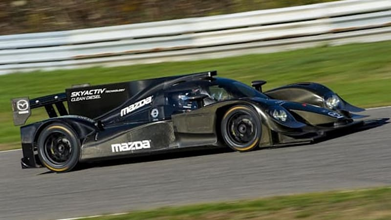 Mazda returning to top-tier racing with diesel-powered prototype in USCC
