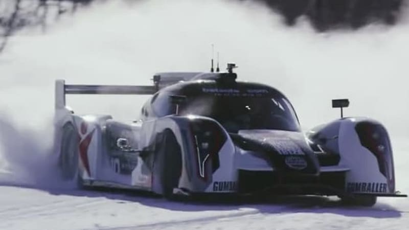 Watch and listen to Jon Olsson drift his Rebellion R2K up a snowy peak