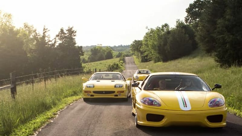 The sunniest Ferrari collection you've ever seen, shot for Forza mag
