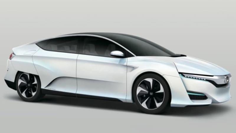 Honda Delays Hydrogen Fuel Cell Sedan Debuts New Concept