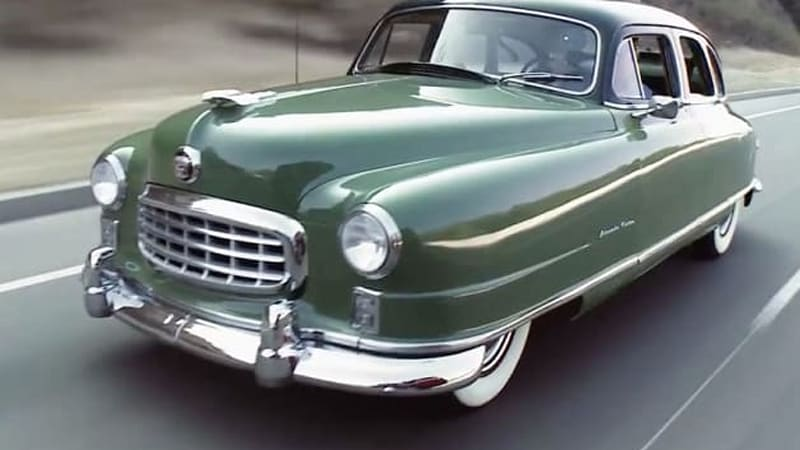 jay leno drives his mostly original and unrestored 1950 nash rh autoblog com
