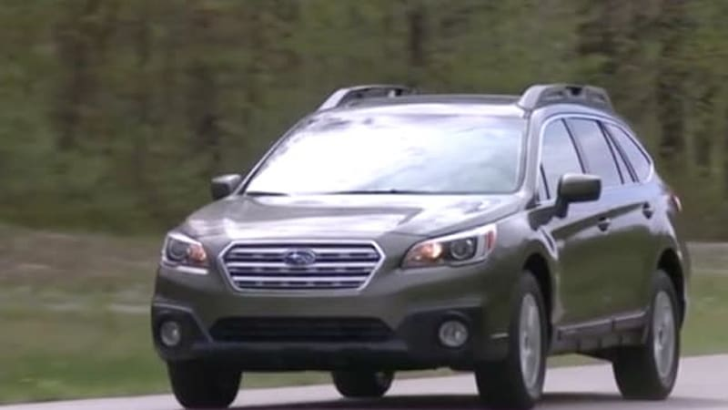 consumer reports sneaks in early review of 2015 subaru outback autoblog. Black Bedroom Furniture Sets. Home Design Ideas